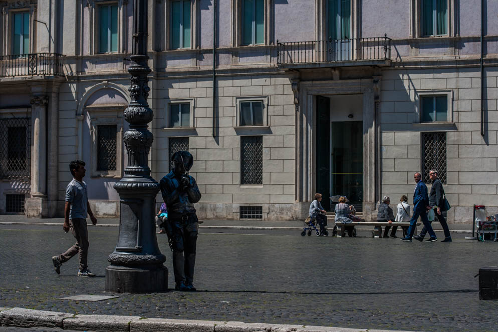 Cowboy in Rome