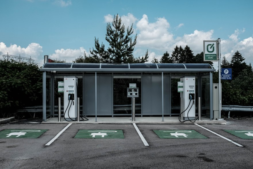 Charger-station for electric cars